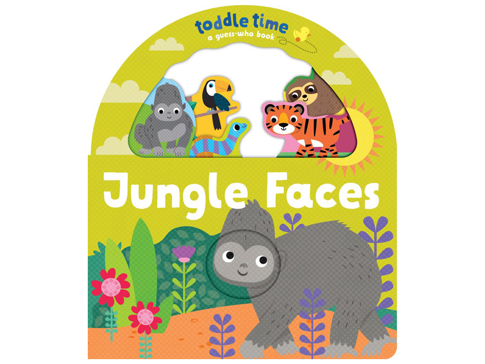 TODDLE TIME JUNGLE FACES