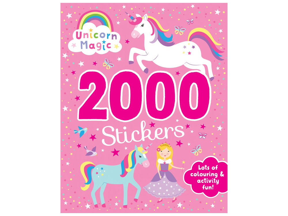 UNICORN MAGIC 2000 STICKERS