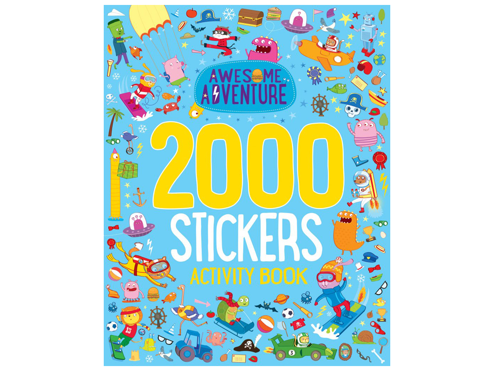 AWESOME ADVENTURE 2000 STICKERS
