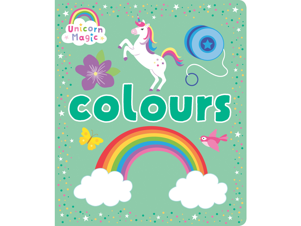 UNICORN MAGIC COLOURS BOARD BK