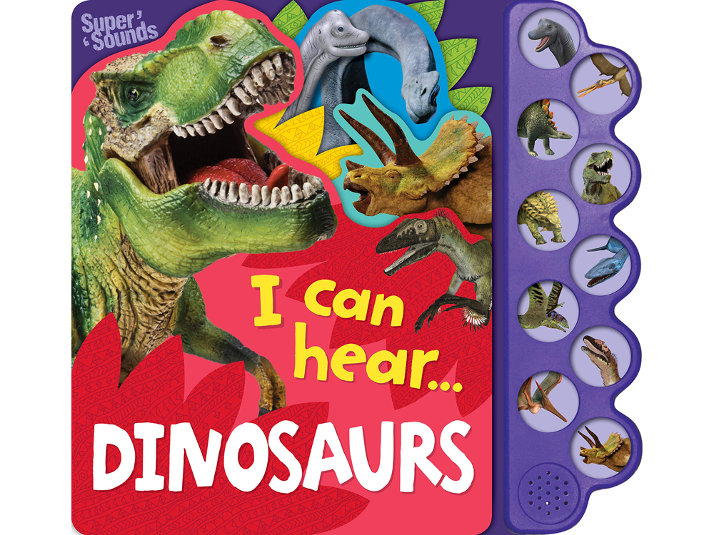 I CAN HEAR...DINOSAURS