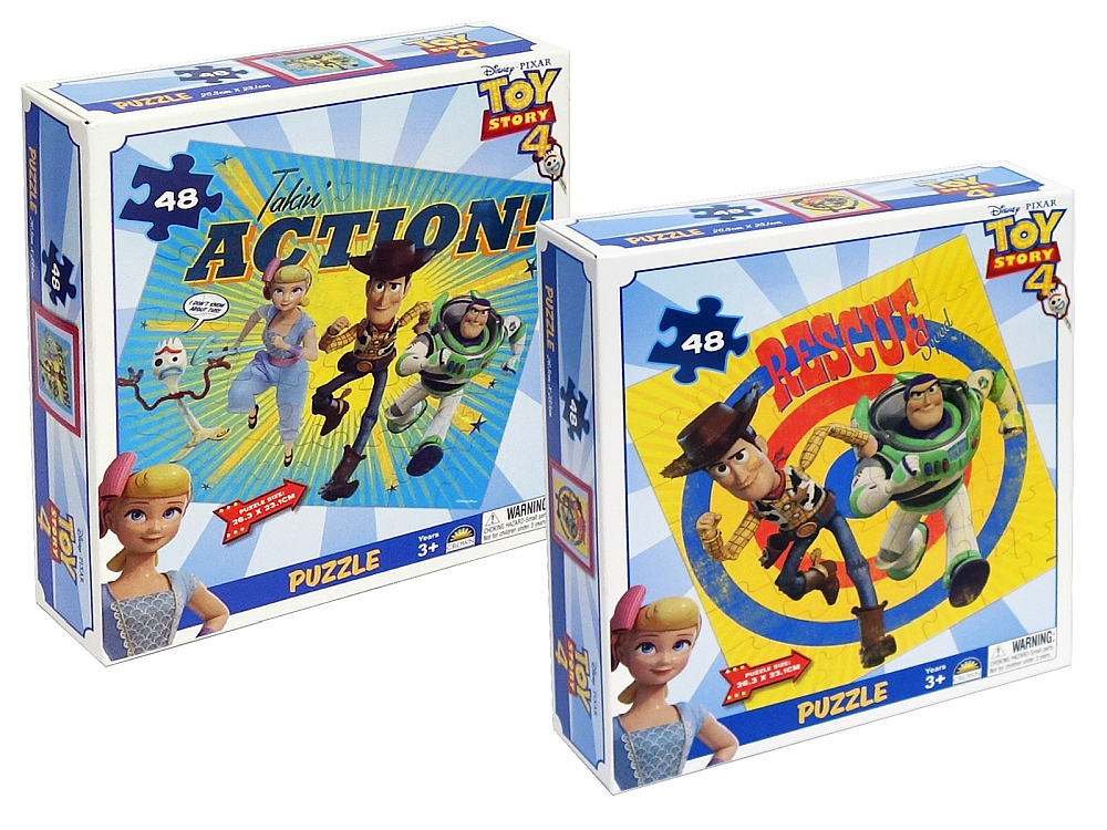 TOY STORY 4 BOXED PUZZLE ASTD