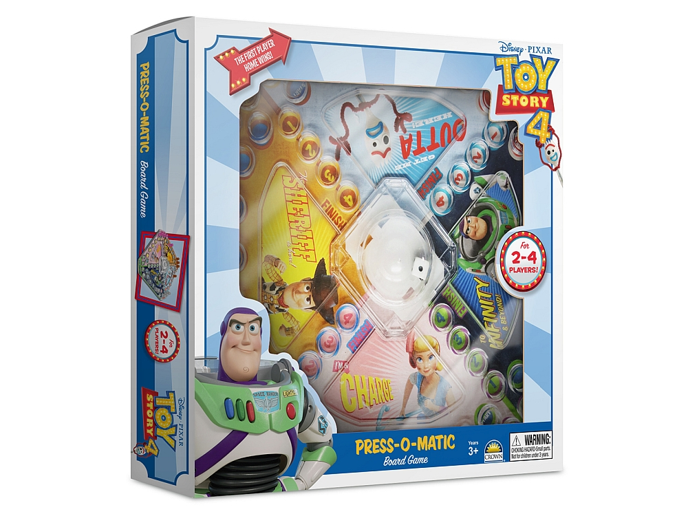 TOY STORY 4 PRESS-O-MATIC