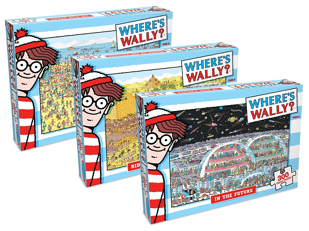 WHERE'S WALLY 300pc ASTD