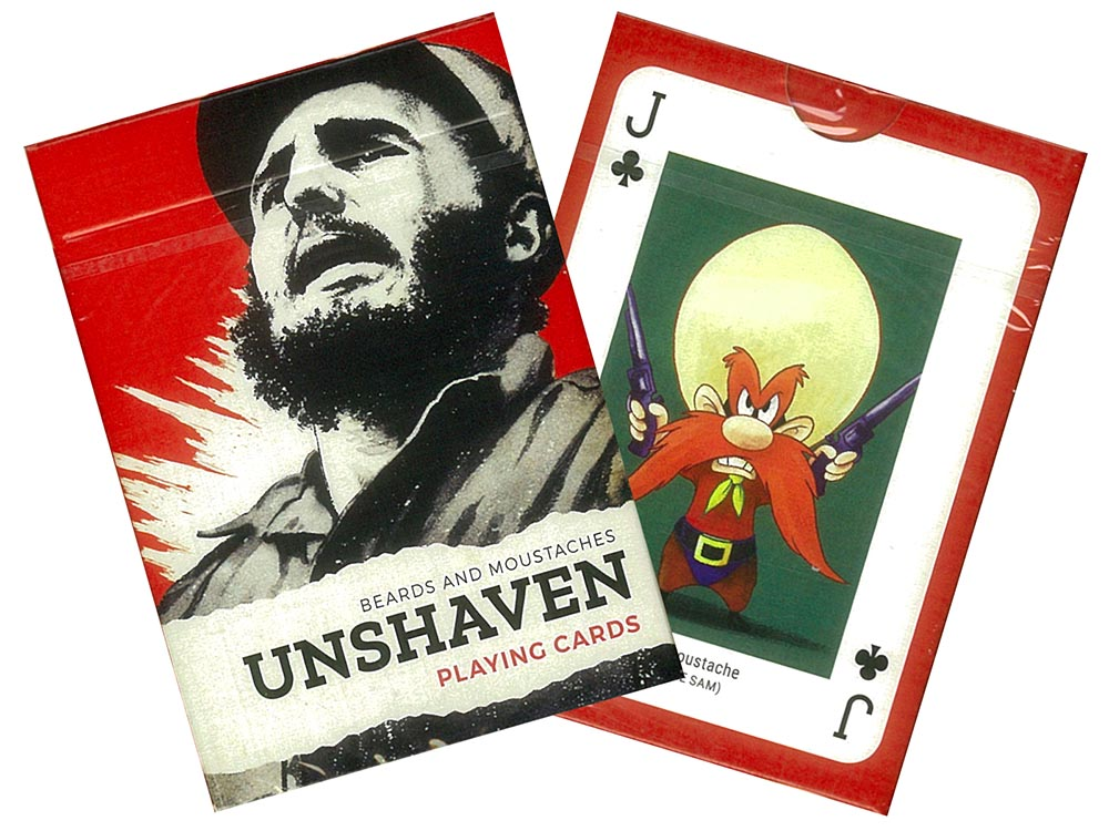 THE UNSHAVEN POKER