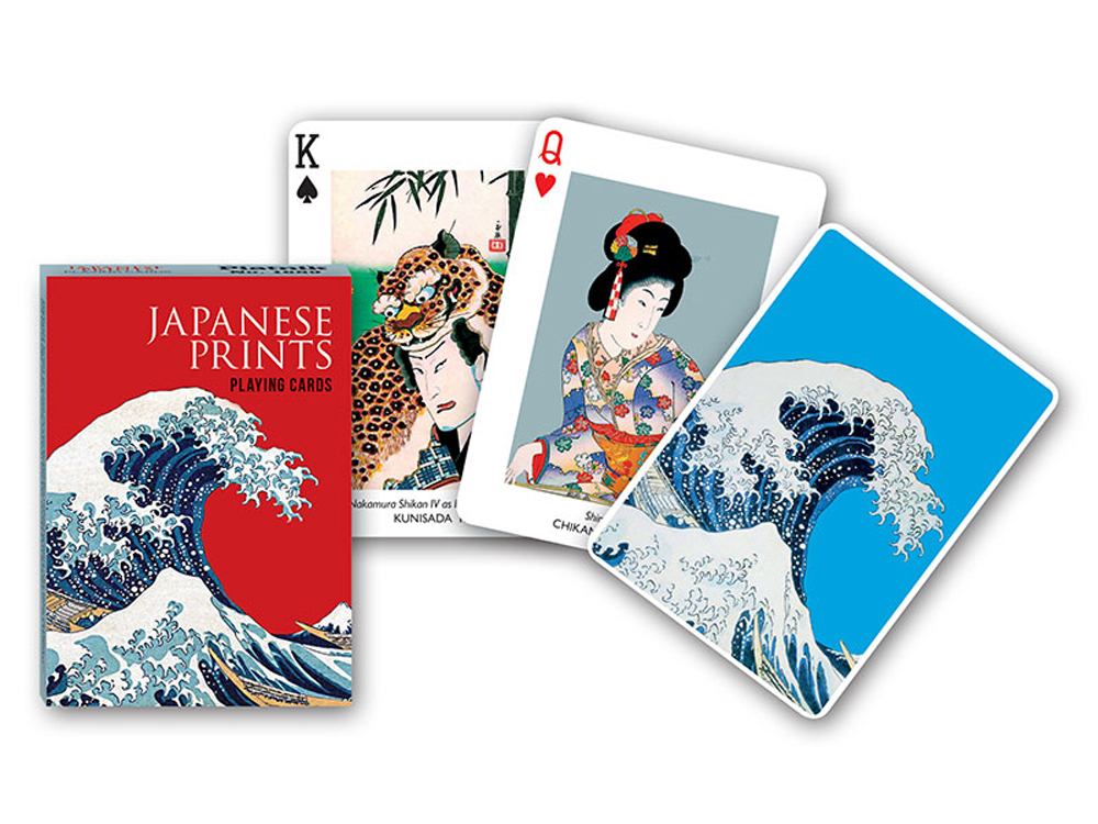 JAPANESE PRINTS POKER
