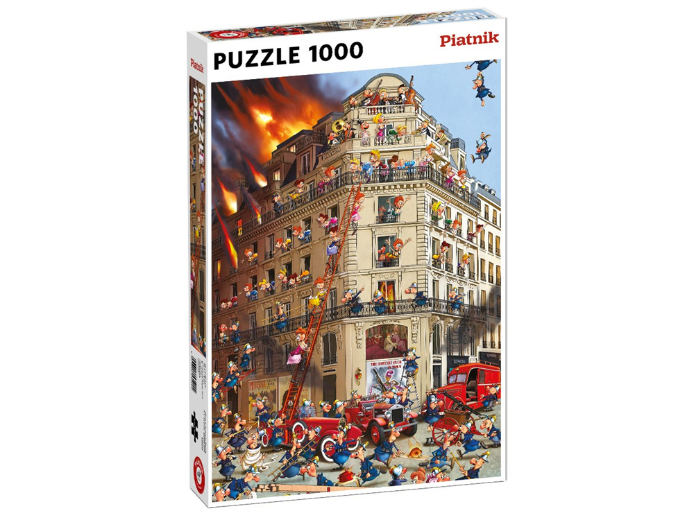 RUYER, FIRE BRIGADE 1000pc