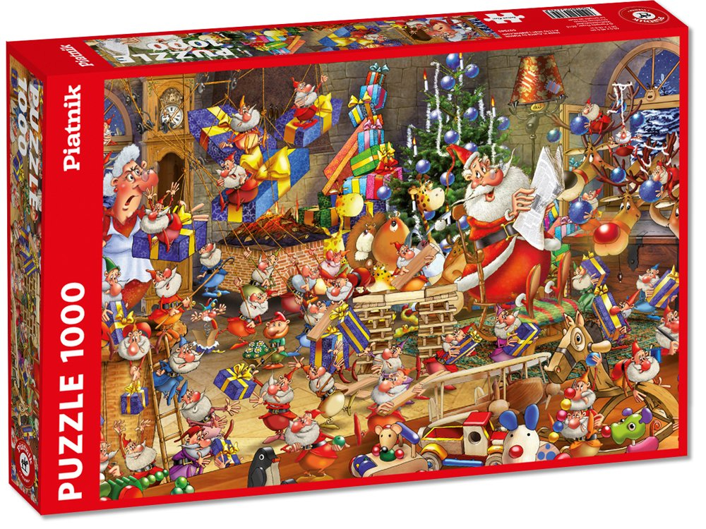 RUYER, CHRISTMAS CHAOS 1000pc