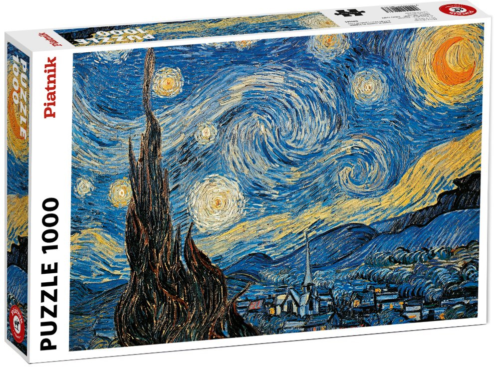 VAN GOGH, STARRY NIGHT 1000pc