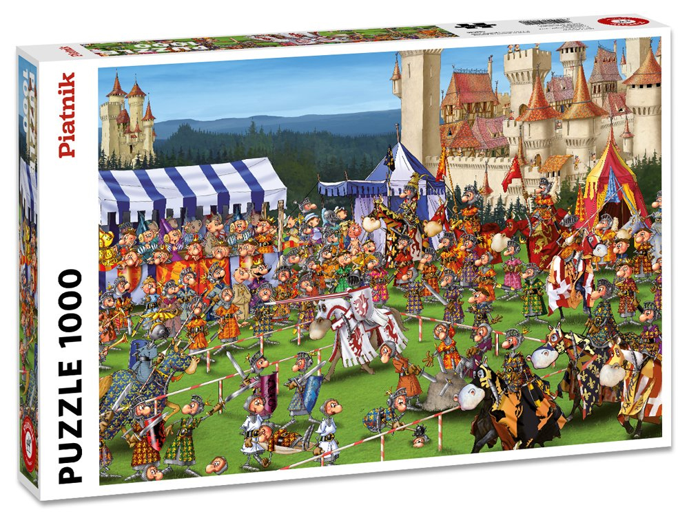 RUYER, MEDIEVAL JOUST 1000pc