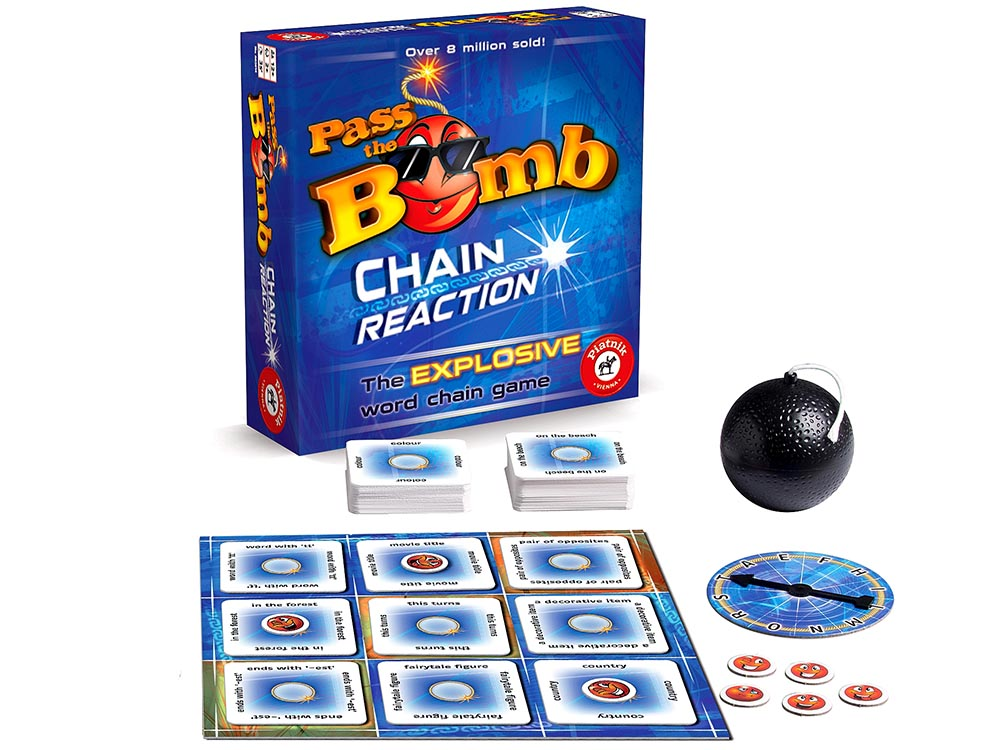 PASS THE BOMB CHAIN REACTION