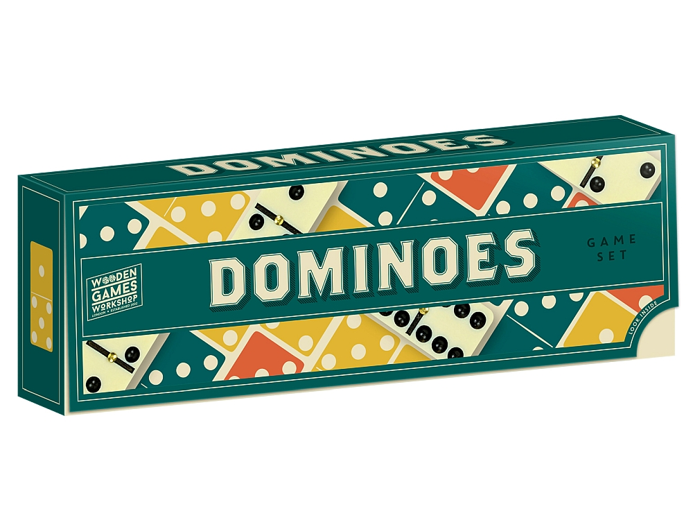 WOOD GAMES WORKSHOP DOMINOES