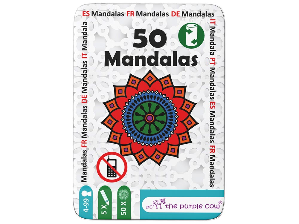 FIFTY MANDALAS, Tin