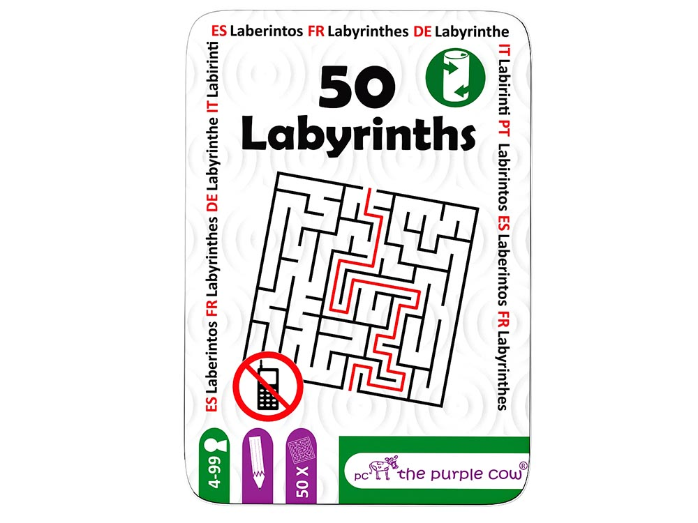 FIFTY LABYRINTHS, Tin