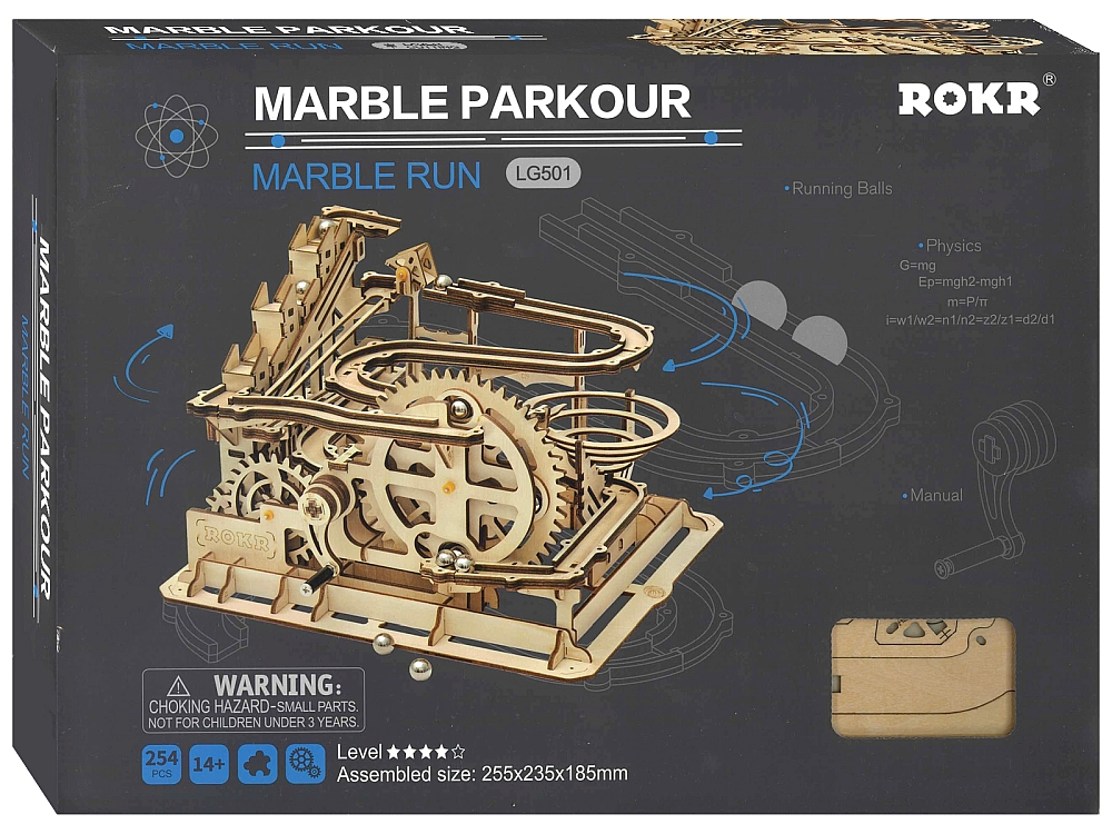 MARBLE PARKOUR MARBLE RUN