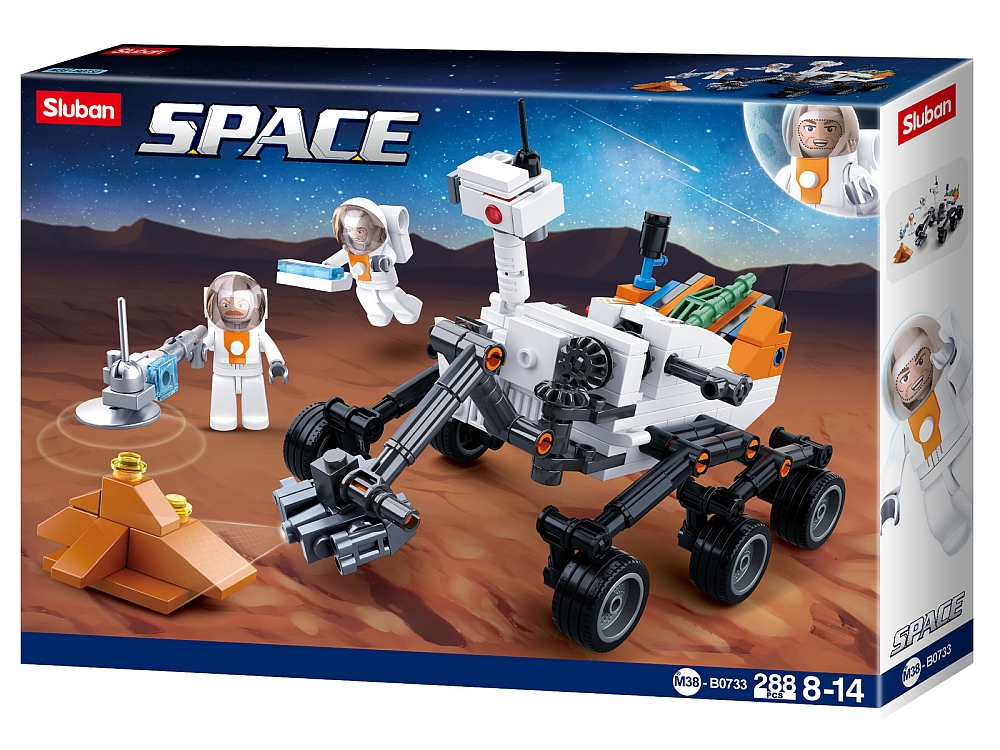 SPACE: MARS BUGGY 288pcs
