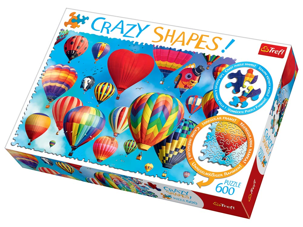 CRAZY SHAPES! COLORFL.BALLOONS