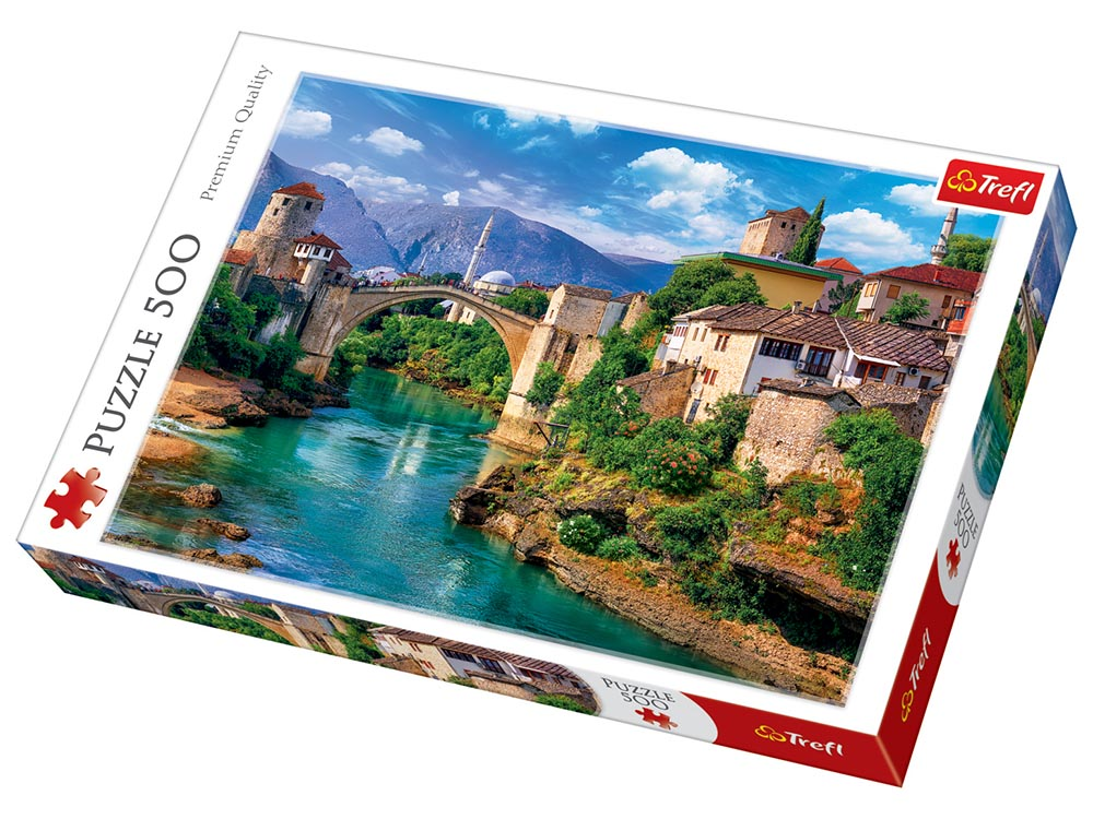 OLD BRIDGE, BOSNIA 500pcs