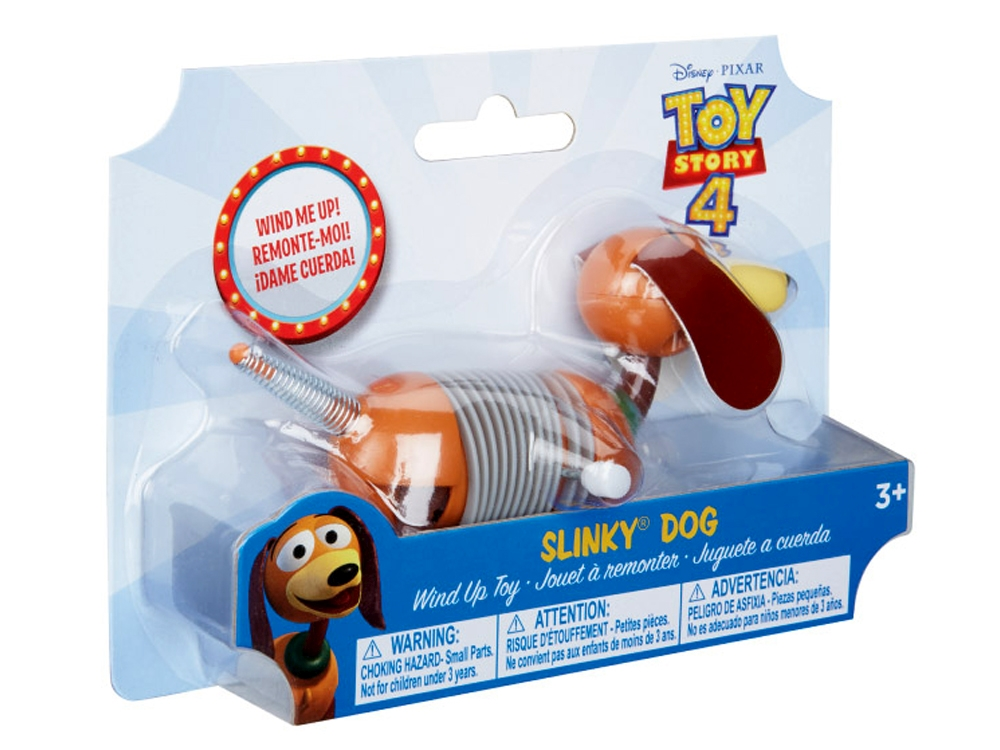 TS4 WIND UP SLINKY DOG
