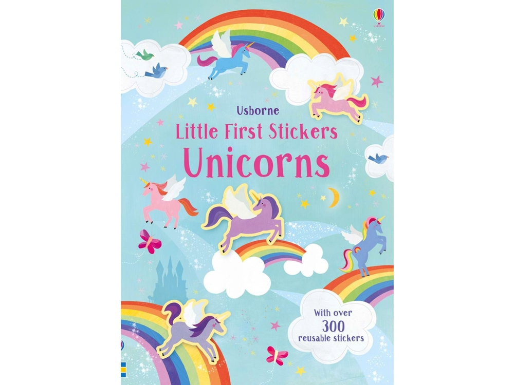 LITTLE FIRST STICKERS UNICORN