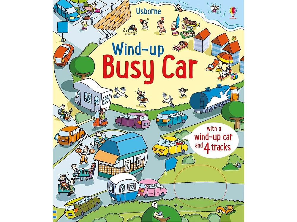 WIND-UP BUSY CAR BOOK