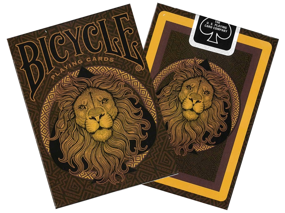 BICYCLE POKER LION