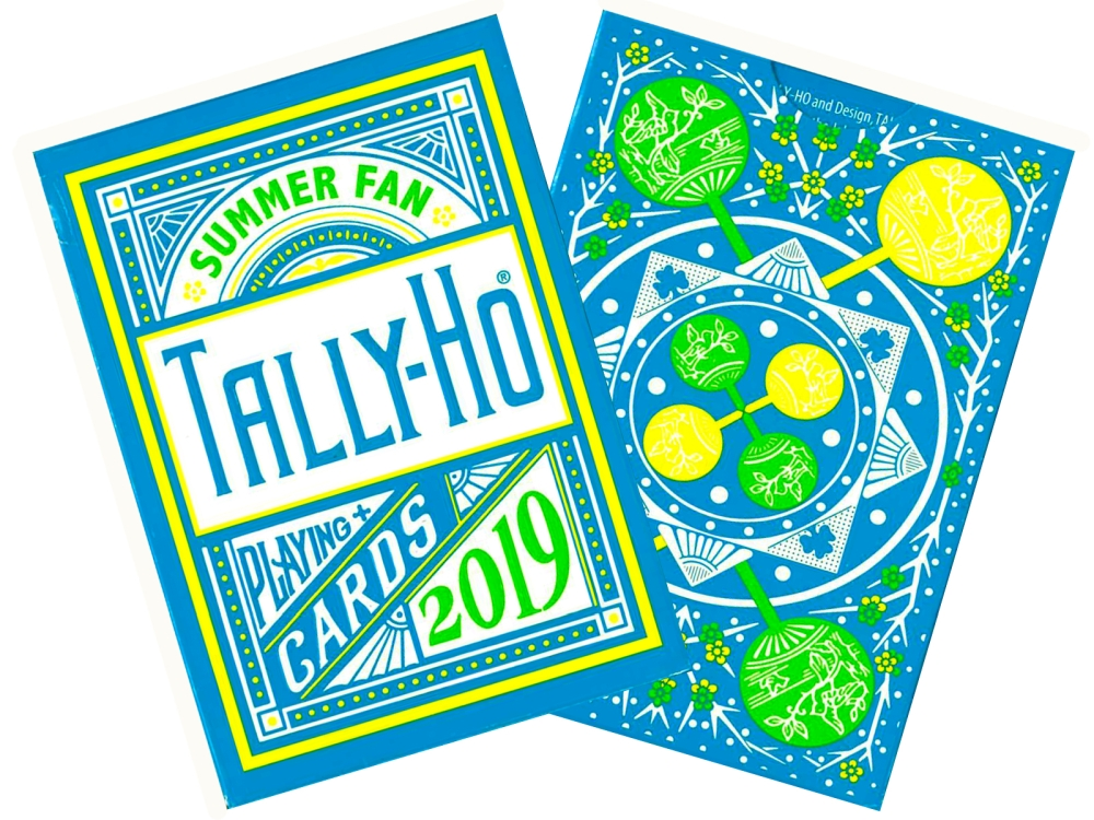 TALLY-HO POKER DECK