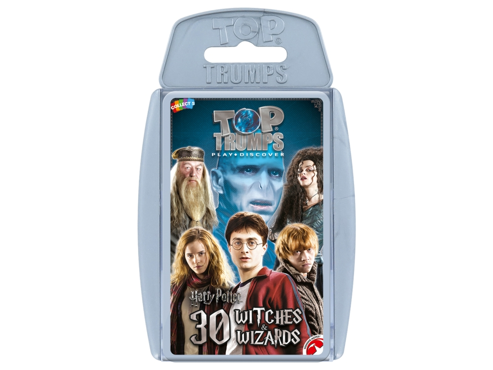 TOP TRUMPS HP WITCHES WIZARDS