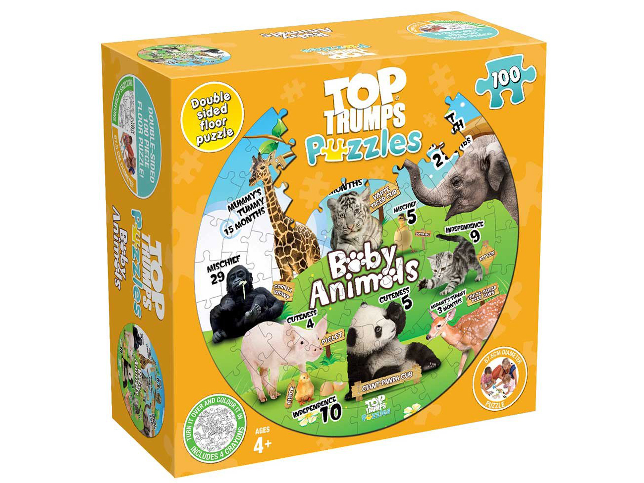 TT PUZZLES BABY ANIMALS 100pc
