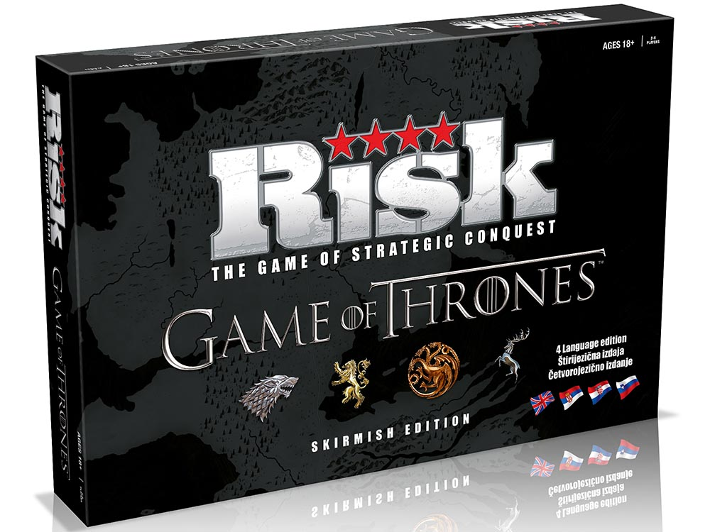 RISK GAME OF THRONES SKIRMISH