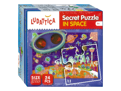 IN SPACE SECRET PUZZLE LUDATTI