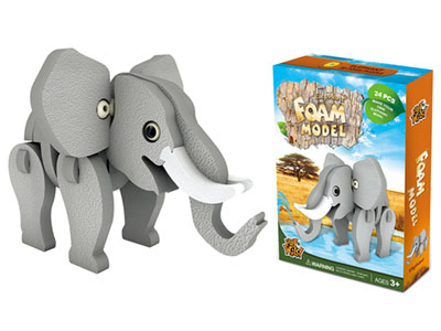 ELEPHANT FOAM MODEL 24pcs