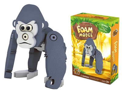 GORILLA FOAM MODEL 25pcs