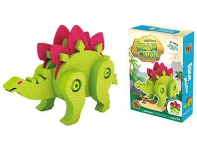 STEGOSAURUS FOAM MODEL 21pcs