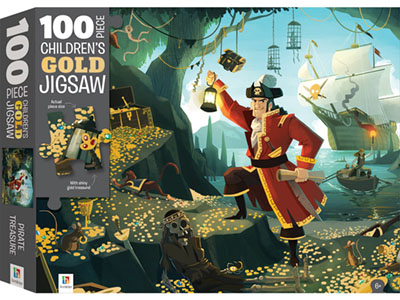 CHILDREN'S GOLD JIGSAW 100pc