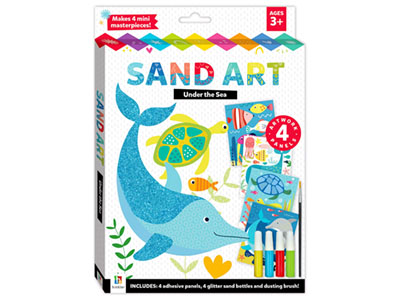 SAND ART UNDER THE SEA