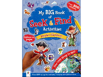 BIG BOOK SEEK & FIND PIRATE