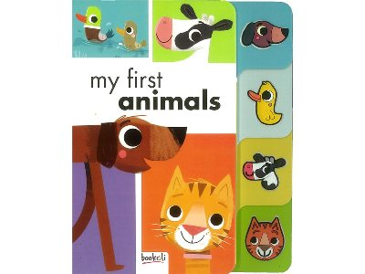 SILICONE TAB MY FIRST ANIMALS