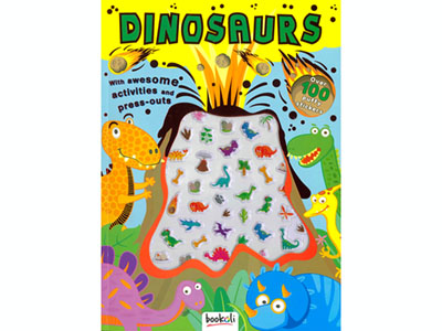 DINOSAURS PUFFY STICKERS