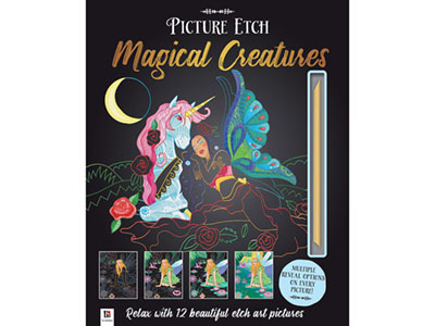 PICTURE ETCH MAGICAL CREATURES