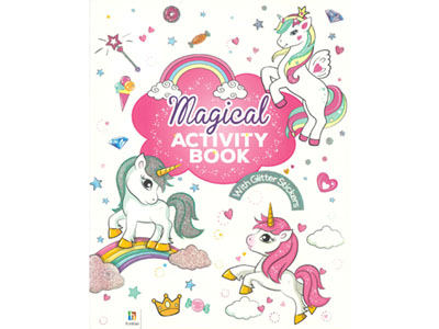 MAGICAL ACTIVITY BOOK+STICKERS