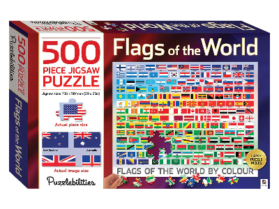 FLAGS OF THE WORLD 500pcs