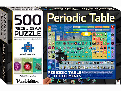 PERIODIC TABLE 500pc