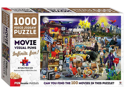 PUNTASTIC MOVIE 1000pc