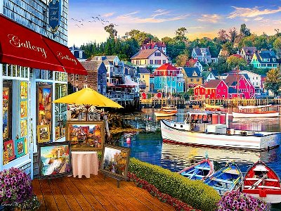 HARBOUR GALLERY 1000pc