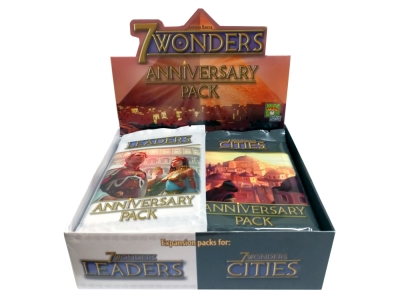 7 WONDERS CITIES ANNIV.14packs