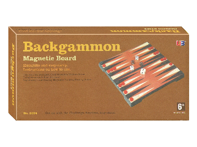 BACKGAMMON MAGNETIC 10""