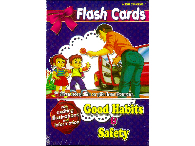 FLASH CARDS GOOD HABITS