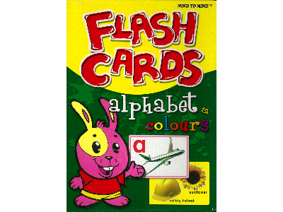 FLASH CARDS ALPHABET & COLOURS