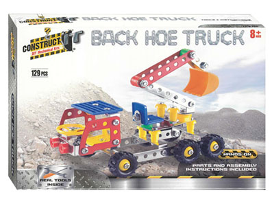 CONSTRUCT IT BACK HOE TRUCK